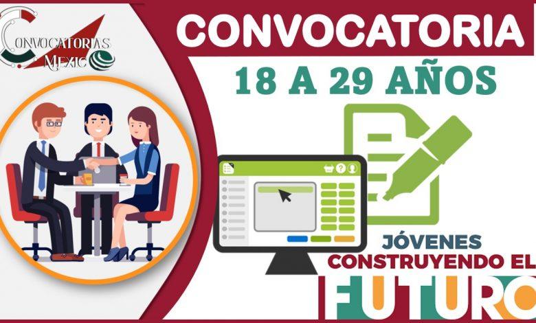 Convocatoria 18 a 29 años2021-2022