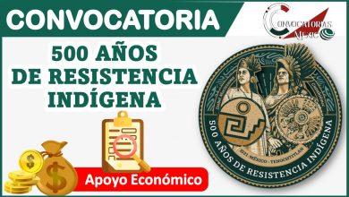 Convocatoria 500 años de resistencia indígena 2021-2022