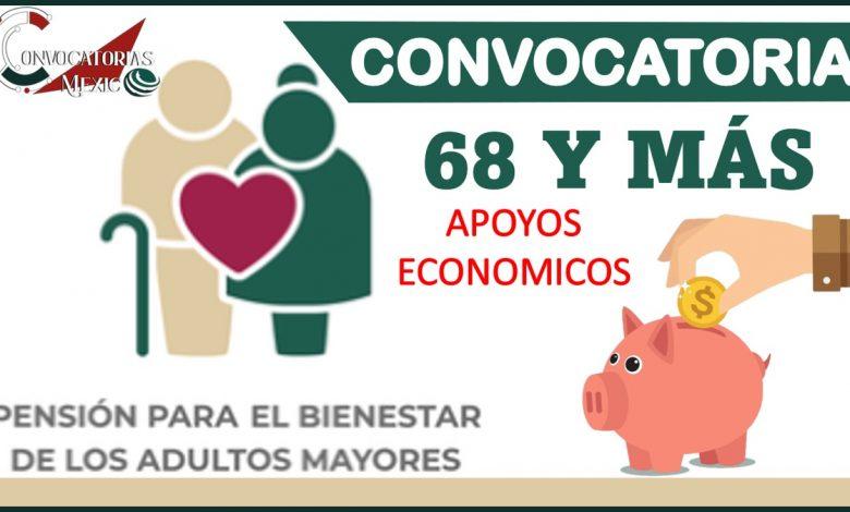 Convocatoria 68 y más 2021-2022