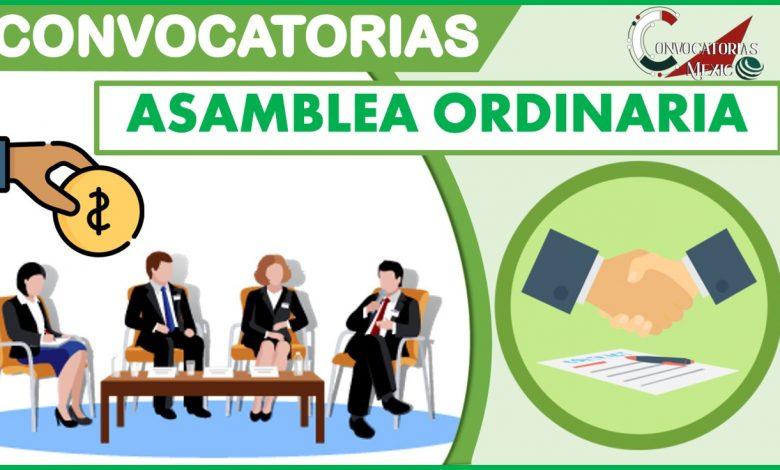 Convocatoria a Asamblea Ordinaria 2021-2022