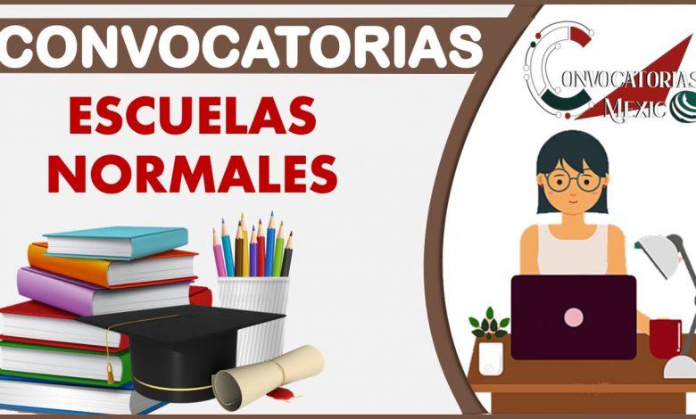 Convocatoria a Escuelas Normales 2021-2022