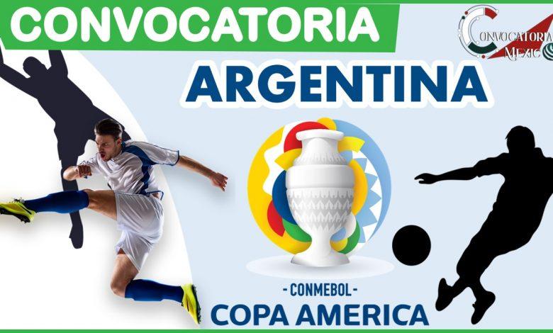 Convocatoria Argentina Copa América 2021-2022
