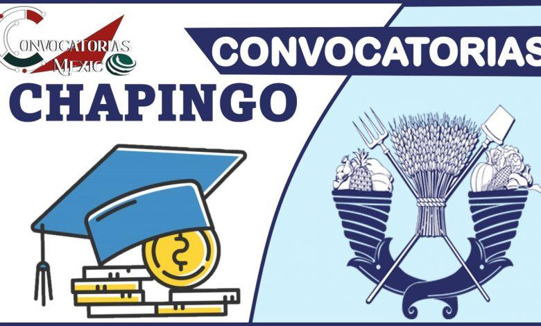Convocatoria Chapingo 2021-2022