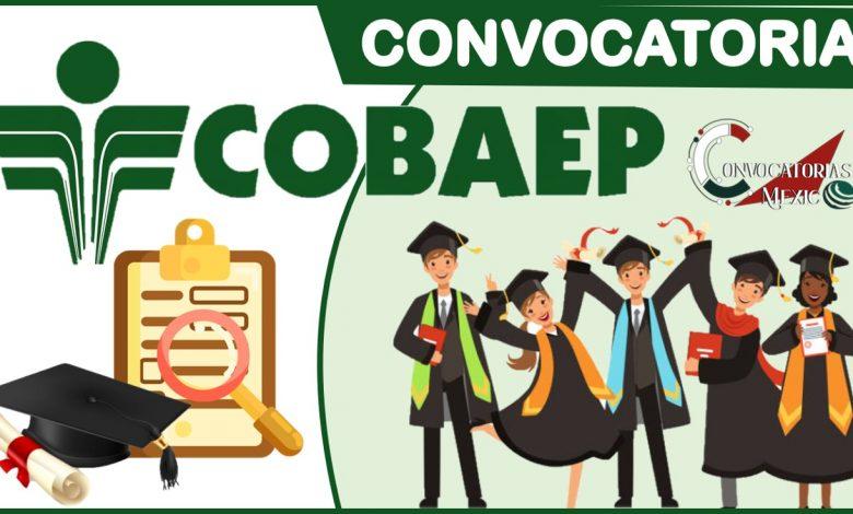 Convocatoria COBAEP 2021-2022