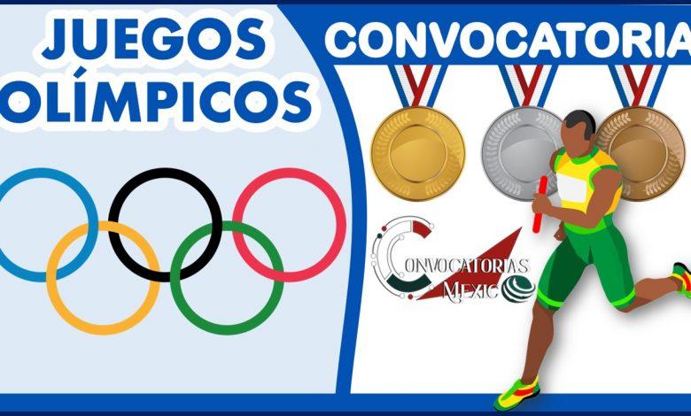 Convocatoria de los Juegos Olímpicos 2021-2022