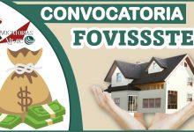 Convocatoria FOVISSSTE 2021-2022