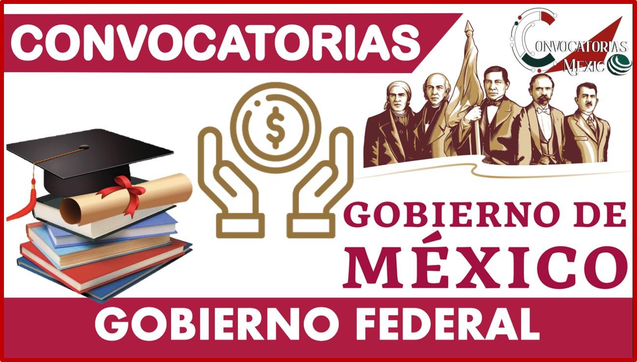 Convocatoria Gobierno Federal 2021-2022