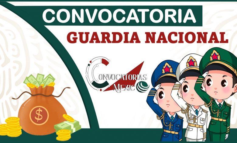 Convocatoria Guardia Nacional 2021-2022