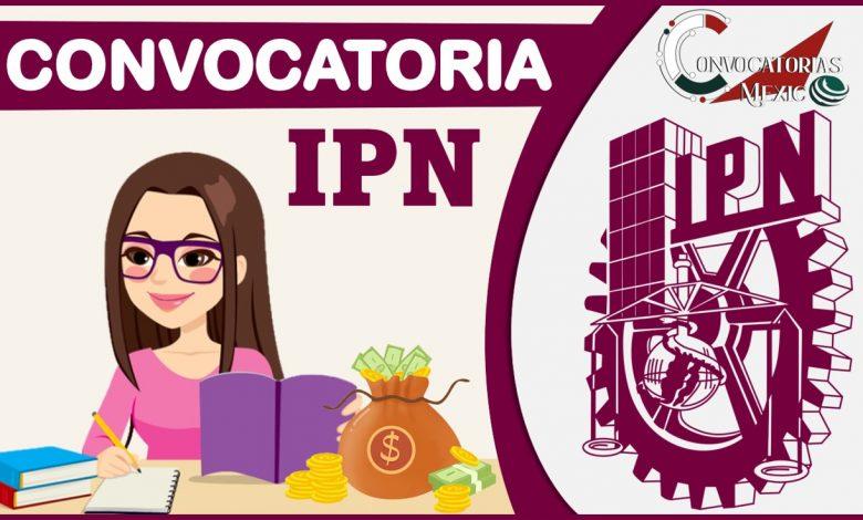 Convocatoria IPN 2021-2022