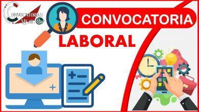 Convocatoria Laboral 2021-2022