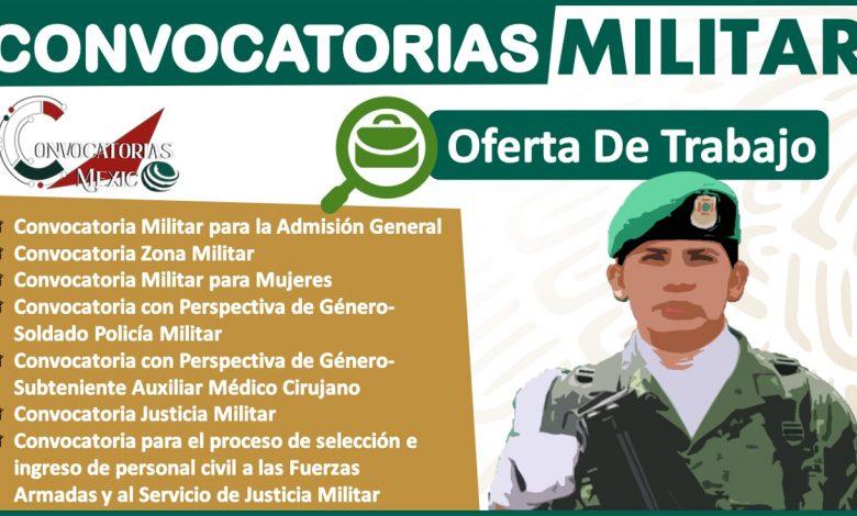 Convocatoria Militar 2021-2022