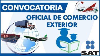 Convocatoria Oficial de Comercio Exterior 2021-2022