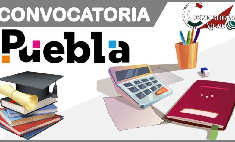 Convocatoria 2021-2022 Puebla