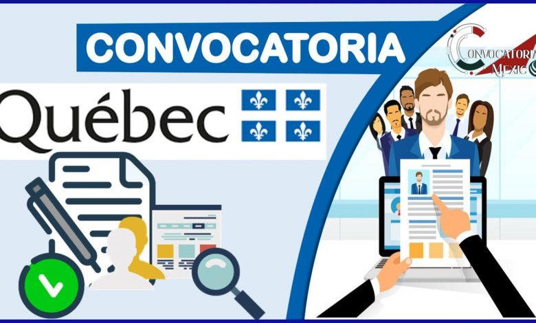 Convocatoria Quebec 2021-2022