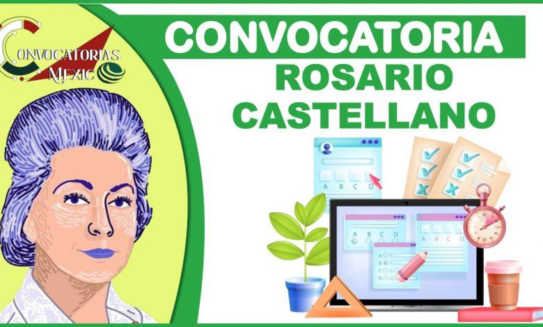 Convocatoria Rosario Castellano 2021-2022