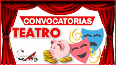 Convocatoria Teatro 2021-2022