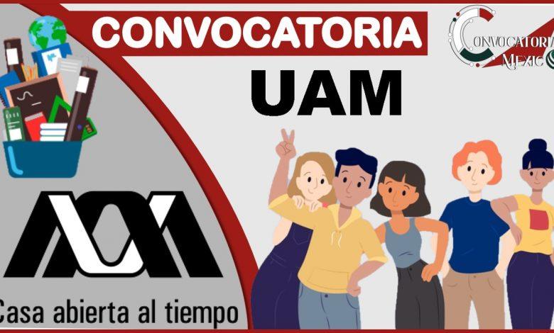 Convocatoria UAM 2021-2022