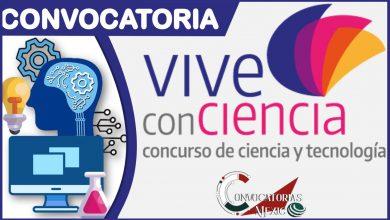 Convocatoria Vive la Ciencia 2021-2022