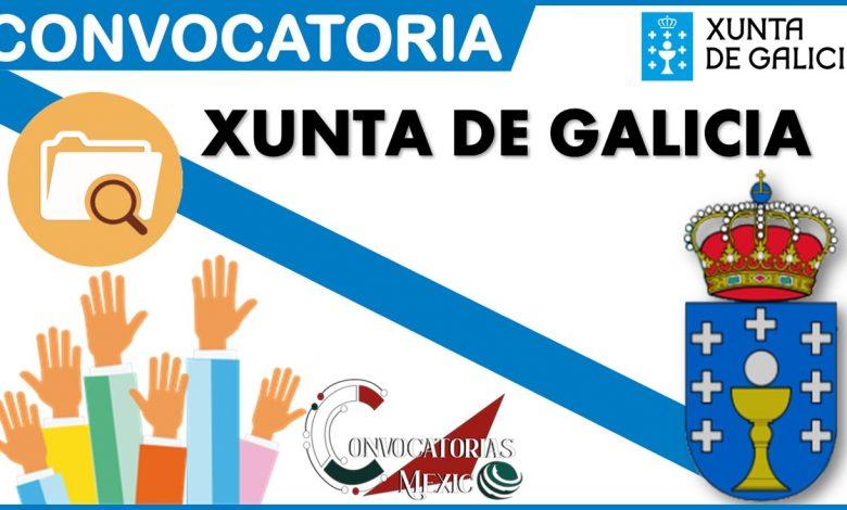 Convocatoria Xunta de Galicia2021-2022