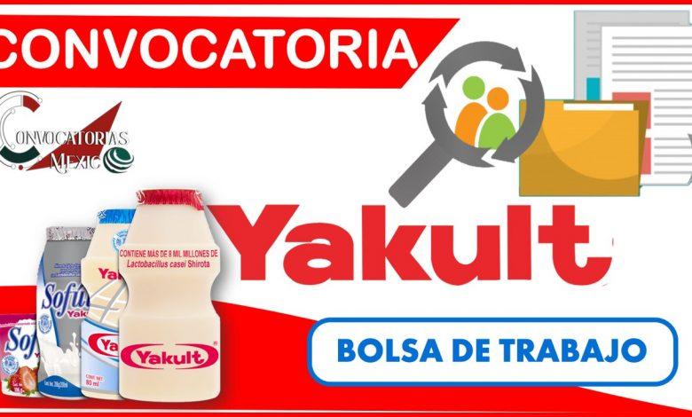 Convocatoria Yakult 2021-2022