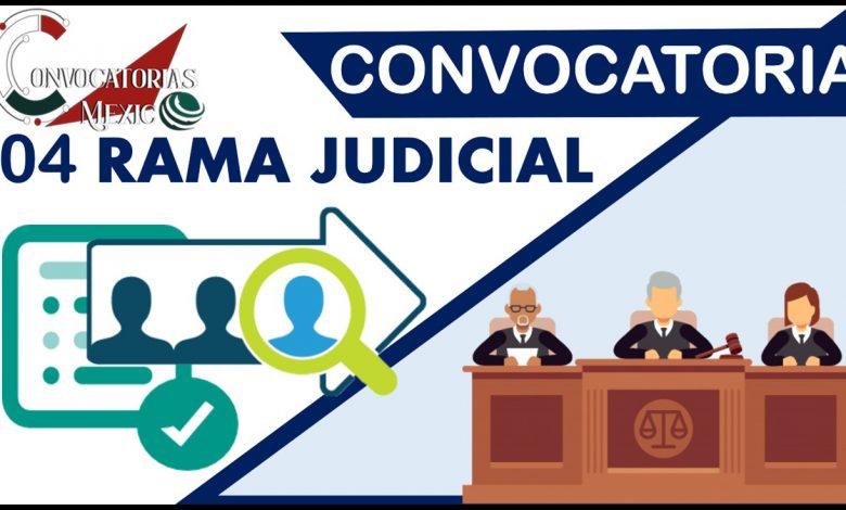 Convocatorias 04 Rama Judicial 2021-2022