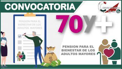 Convocatorias 70 y más 2021-2022