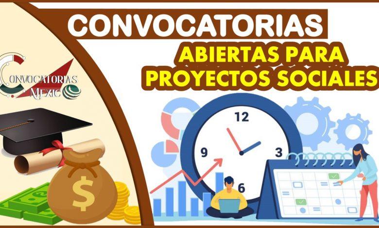 Convocatorias Abiertas para Proyectos Sociales 2021-2022