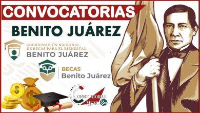 Convocatorias Benito Juárez 2021-2022