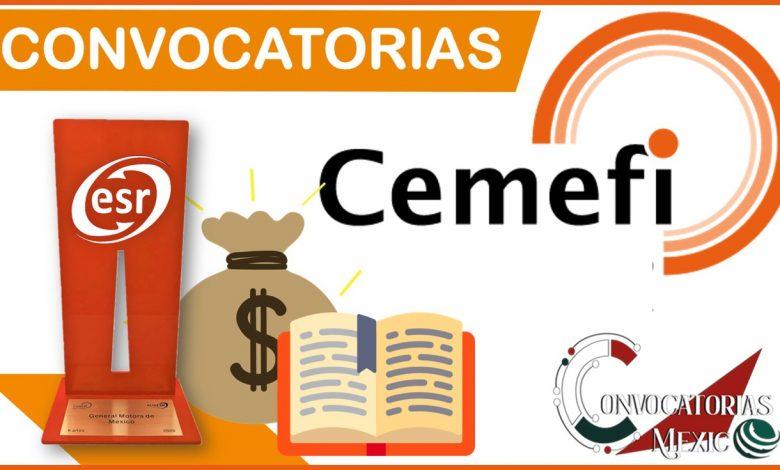 Convocatorias Cemefi 2021-2022