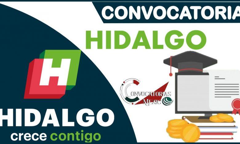 Convocatorias de Hidalgo 2021-2022