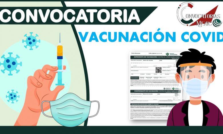 Convocatorias de Vacunación Covid 2021-2022