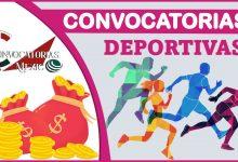 Convocatorias deportivas 2021-2022