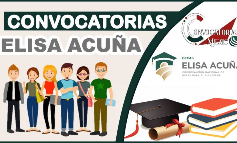 Convocatorias Elisa Acuña 2021-2022