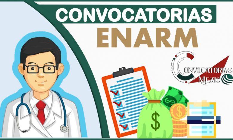 Convocatorias ENARM 2021-2022
