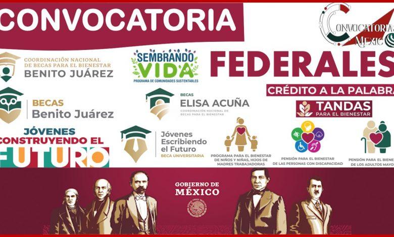 Convocatorias federales 2021-2022