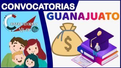 Convocatorias Guanajuato 2021-2022