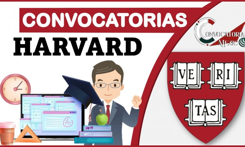 Convocatorias Harvard2021-2022