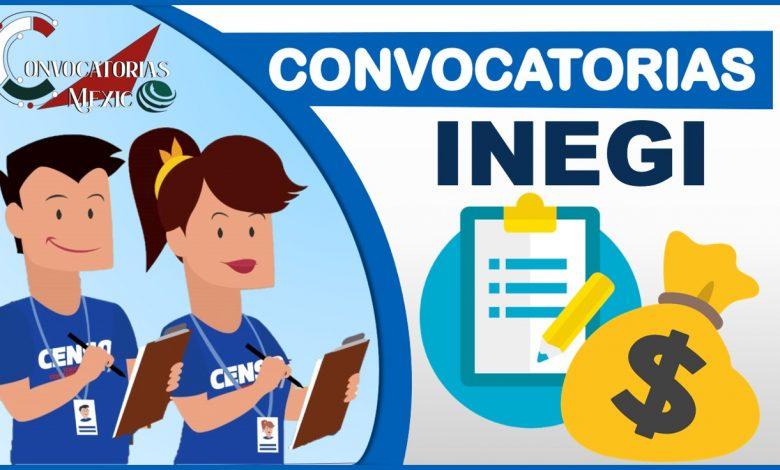 Convocatorias INEGI 2021-2022