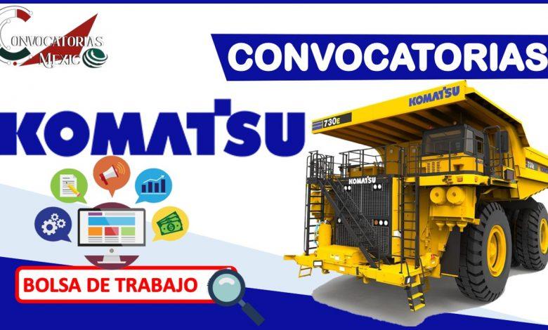Convocatorias Komatsu 2021-2022