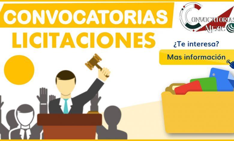 Convocatorias licitaciones 2021-2022