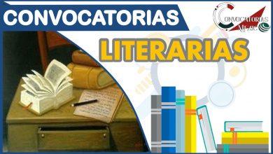 Convocatorias Literarias 2021-2022