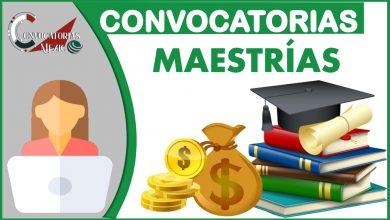 Convocatorias Maestrías 2021-2022