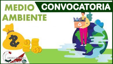 Convocatorias Medio Ambiente2021-2022