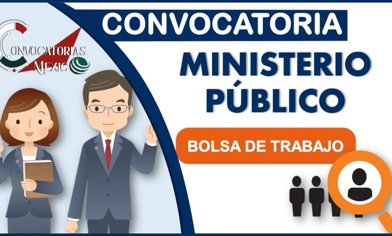 Convocatorias Ministerio Público 2021-2022