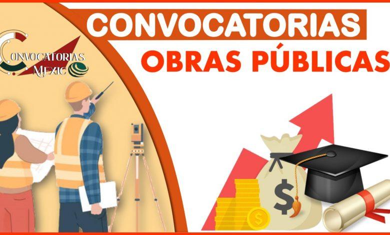 Convocatorias Obras Públicas 2021-2022