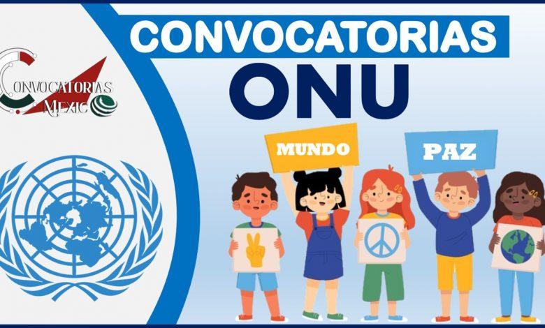 Convocatorias ONU 2021-2022