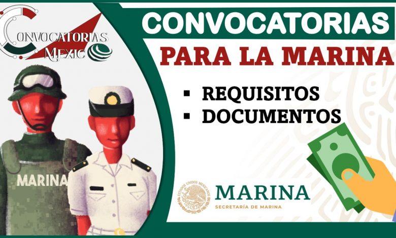 Convocatorias para la Marina 2021-2022