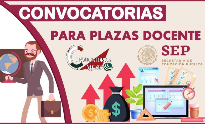 Convocatorias para plazas Docente 2021-2022
