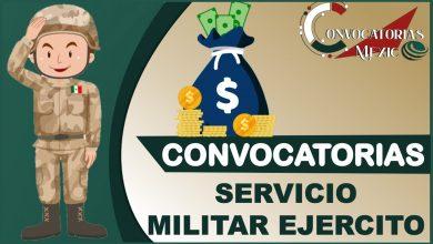Convocatorias para prestar Servicio Militar Ejercito 2021-2022