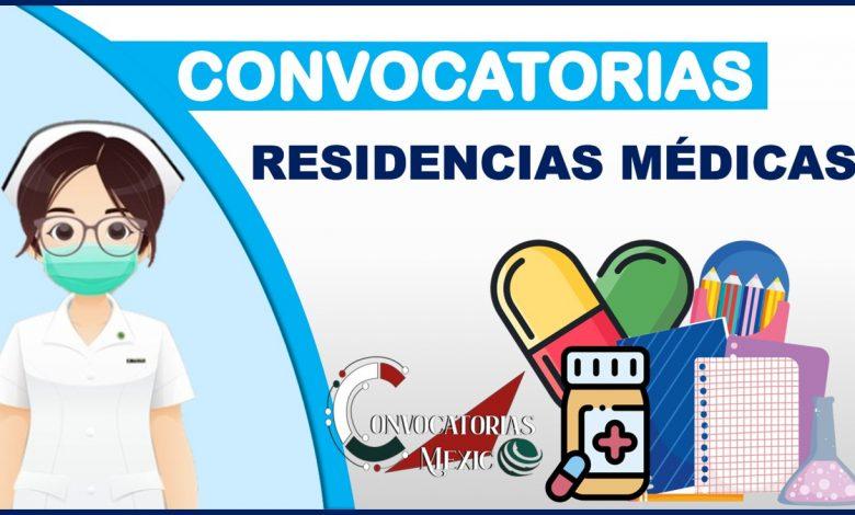 Convocatorias Residencias Médicas 2021-2022